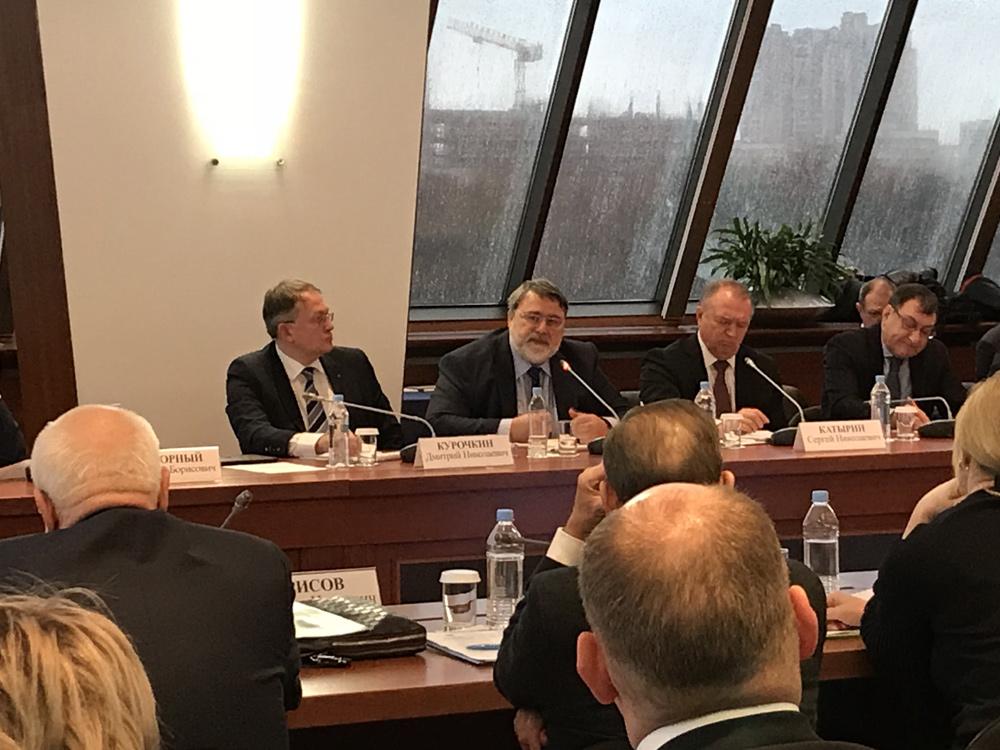 Заседание Совета руководителей объединений предпринимателей - членов ТПП РФ Фото 2