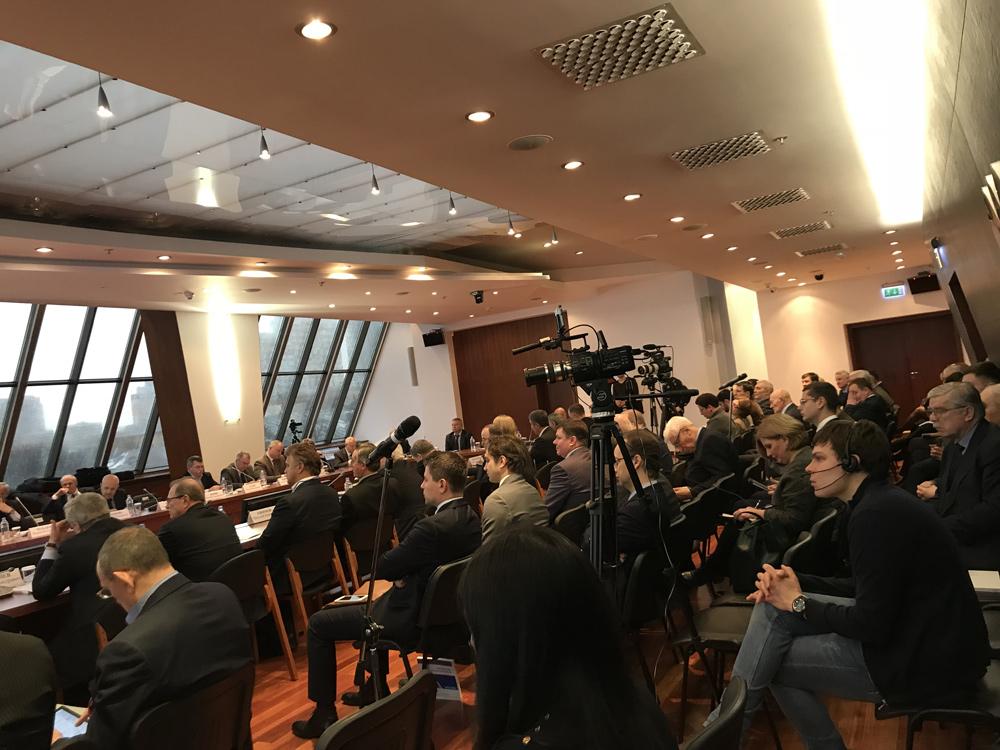 Заседание Совета руководителей объединений предпринимателей - членов ТПП РФ Фото 1